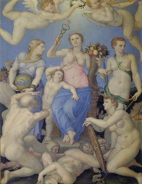 Agnolo Bronzino: Allegorie des Glücks
