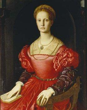 Agnolo Bronzino: Lucrezia Panciatichi, Bildnis