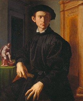 Agnolo Bronzino: Bildnis eines jungen Mannes mit Laute