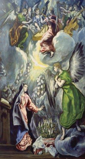 Greco El (Dom.Theotokopoulos): Verkündigung Mariae