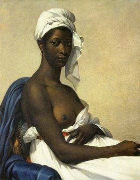 Marie-Guilhelmine Benoist: Portrait d'une femme noire