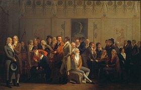 Louis-Léopold Boilly: Zusammenkunft von Künstlern im Atelier von Isabey