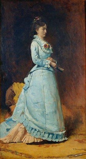 Léon Bonnat: Bildnis einer Dame