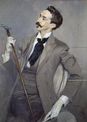 Giovanni Boldini: Bildnis des Schriftstellers Comte Robert de Montesquiou (1855-1921)