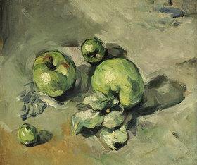 Paul Cézanne: Grüne Äpfel. Gegen