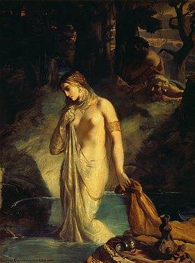 Theodore Chasseriau: Susanna im Bade