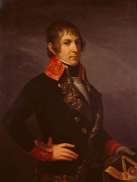 Jacques Louis David: General De la Poype, Bildnis