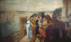 Edgar Degas: Die Erbauung Babylons durch Semiramis