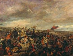 Eugene Delacroix: Die Schlacht von Poitiers