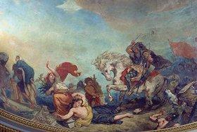 """Eugene Delacroix: Attila und seine Barbaren """"treten Italien und seine Künste mit Füssen"""""""
