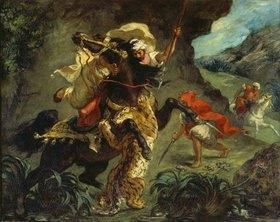 Eugene Delacroix: Tigerjagd