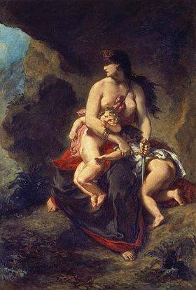 Eugene Delacroix: Die rasende Medea