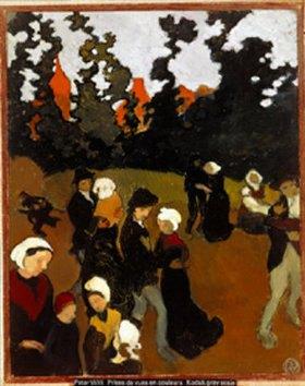 Maurice Denis: Bretonen beim Tanz