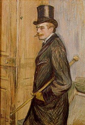 Henri de Toulouse-Lautrec: Louis Pascal im Profil