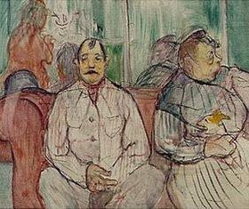 Henri de Toulouse-Lautrec: Er, sie und der Hund