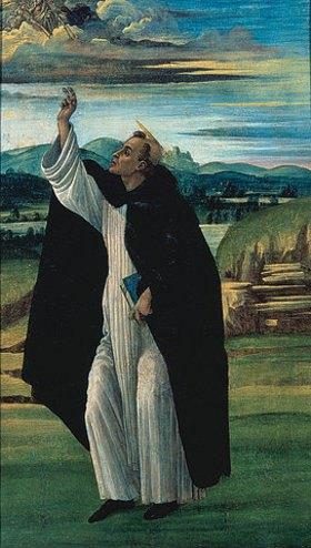 Sandro Botticelli: Der Hl. Dominikus. Zwischen 1498 und