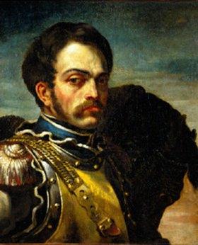 Théodore Géricault: Bildnis eines Schützen im Harnisch