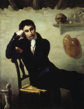 Théodore Géricault: Bildnis eines Künstlers in seinem Atelier