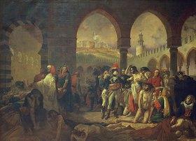 Antoine Jean Gros: Napoleon Bonaparte besucht die Pestkranken in Jaffa am 11.März