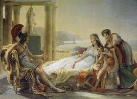 Pierre Narcisse Guérin: Aeneas berichtet Dido vom Kampf um Troja