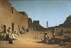 Gustave Guillaumet: Laghout in der algerischen Sahara