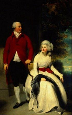 Sir Thomas Lawrence: Mr. und Mrs. John Julius Angerstein