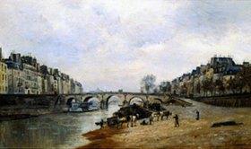 Stanislas Lépine: Quay des Célestins und Pont-Marie in Paris
