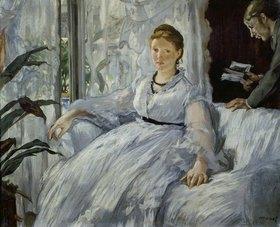 Edouard Manet: Die Lektüre. Mme. Manet und ihr Sohn Léon Koella-Leenhoff