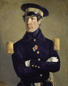 Jean-François Millet: Bildnis eines Marine-Offiziers