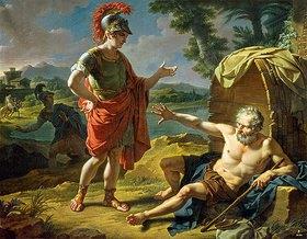 Nicolas André Monsiau: Alexander und Diogenes