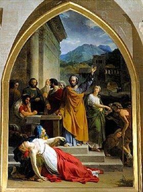 François-Edouard Picot: Der Tod der Saphira