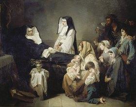 Isidore Pils: Der Tod der Schwester Saint-Prosper von den Barmherzigen Schwestern