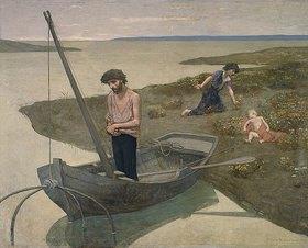 Pierre Puvis de Chavannes: Der arme Fischer