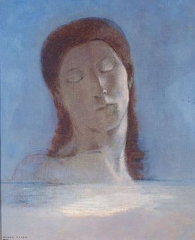 Odilon Redon: Geschlossene Augen