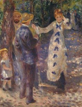 Auguste Renoir: Auf der Schaukel