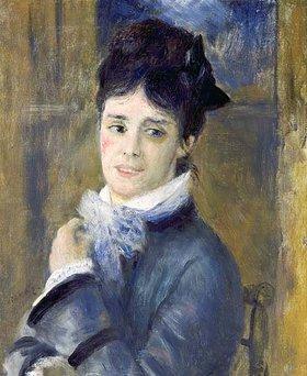Auguste Renoir: Bildnis der Madame Claude Monet