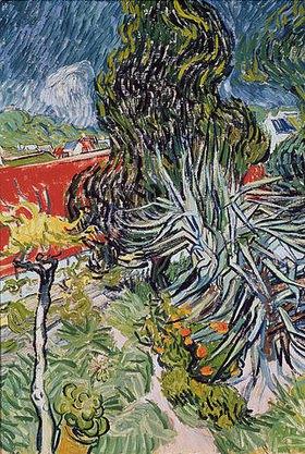 Vincent van Gogh: Der Garten des Doktor Gachet in Auvers