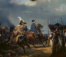 Emile Jean Horace Vernet: Napoleon Bonaparte zu Pferde in der Schlacht von Jena am
