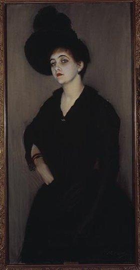 Jacques-Emile Blanche: Bildnis der Mme. Vasnier