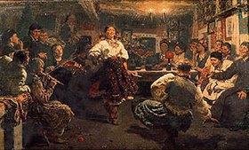 Ilja Efimowitsch Repin: Ein Fest in der Bauernstube