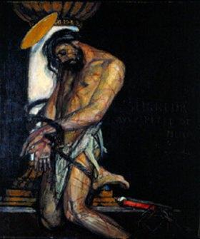 George-Olivier Desvallieres: Christus an der Martersäule
