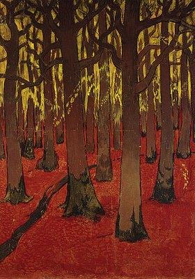 Georges Lacombe: Unterholz. Um 1891