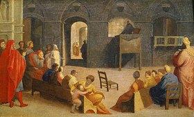 Domenico Beccafumi: Die Predigt des hl. Bernardino von Siena