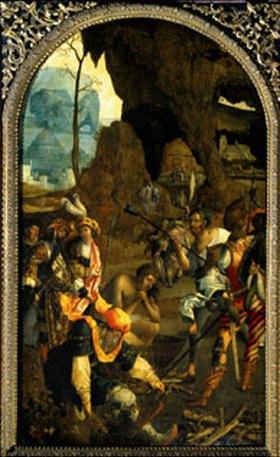 Meister d.Johannes-Martyriums: Martyrium Johannes des Evangelisten