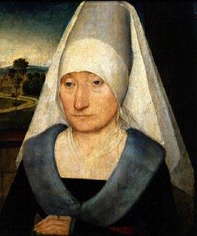 Hans Memling: Bildnis einer alten Frau