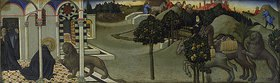 Sano di Pietro: Der hl. Hieronymus und der Löwe