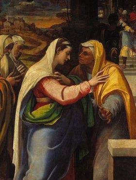 Sebastiano del Piombo: Die Heimsuchung Mariae