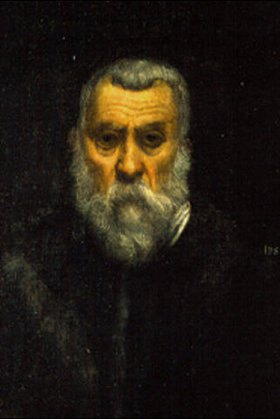 Tintoretto (Jacopo Robusti): Selbstbildnis, vor