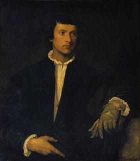Tizian (Tiziano Vecellio): Der Mann mit dem Handschuh