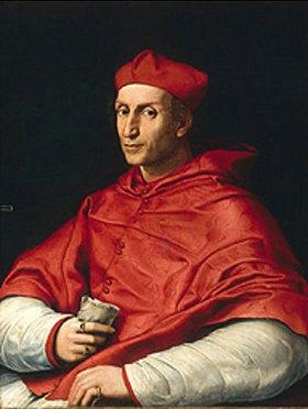 Raffael (Raffaello Sanzio): Bildnis des Cardinale Bibbiena